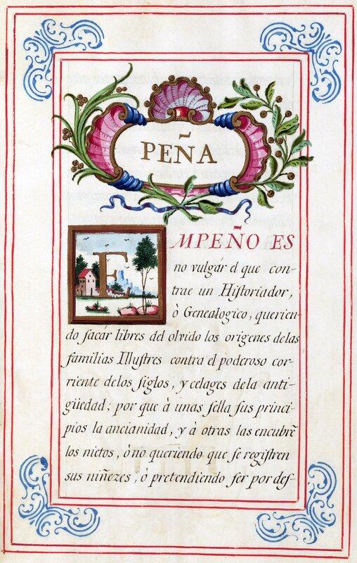 Historia del apellido Peña