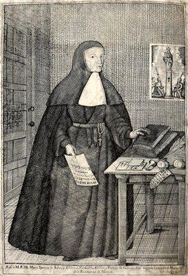 """""""Retrato de la Muy Reverenda Madre María Ignacia de Azlor y Echeverz"""""""
