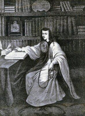 Retrato de Sor Juana Inés de la Cruz