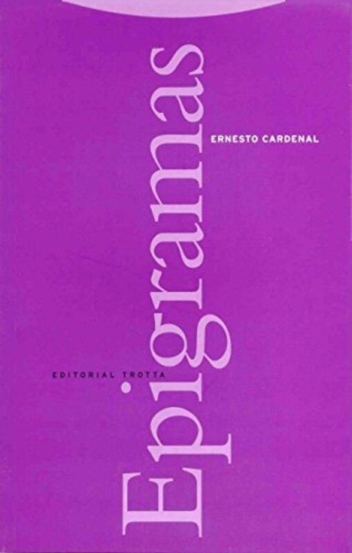 """""""Epigramas,"""" cover"""