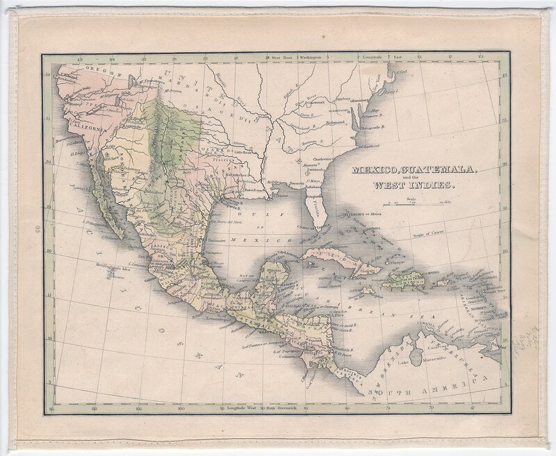 """Mexico, Guatemala, and the West Indies"""