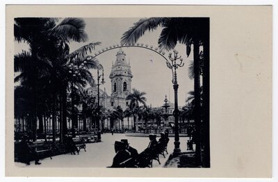 """""""Plaza de Armas with the old Cathedral"""""""