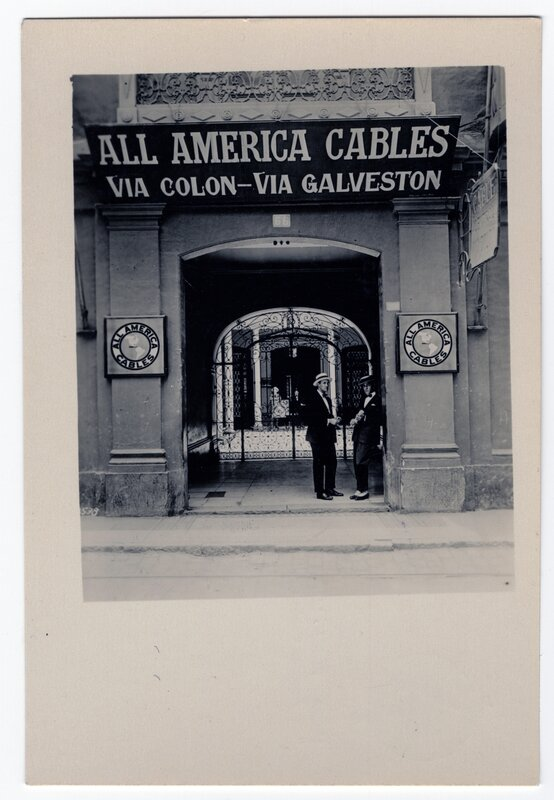 """""""Office of 'All America Cable Co.'"""""""